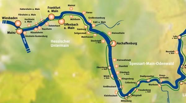 Radwege Rhein Main