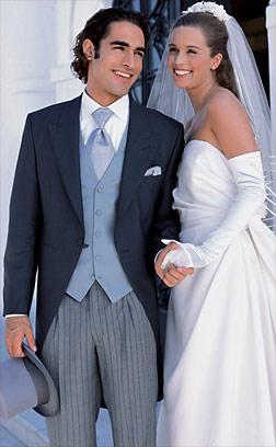 Der Cut ist der Anzug für den Bräutigam